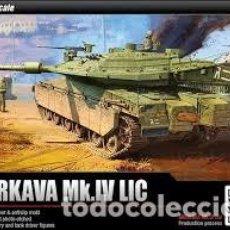 Maquetas: ACADEMY - MERKAVA MK.IV LIC 1/35 13227. Lote 156958226