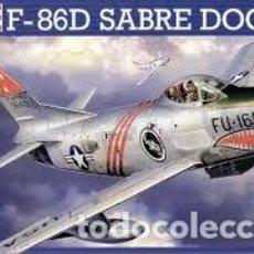 Maquetas: REVELL - F-86D SABRE DOG 1/48 04502 . Lote 156961206