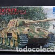 Maquetas: ITALERI - PANTHER AUSF A GERMAN STANDARD TANK 1/35 270 . Lote 156962830