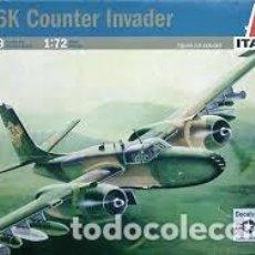 Maquetas: ITALERI - B-26K COUNTER INVADER 1/72 1249. Lote 156963846