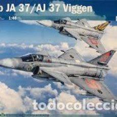 Maquetas: ITALERI - SAAB JA 37/AJ 37 VIGGEN 1/48 2787 . Lote 156964206