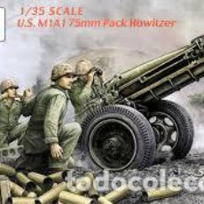 Maquetas: VISION MODELS - U.S. M1A1 75MM PACK HOWITZER 1/35 35001. Lote 157112702