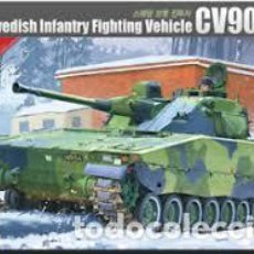 Maquetas: ACADEMY - SWEDISH INFANTRY FIGHTING VEHICLE CV9040B 1/35 13217. Lote 157138630