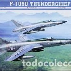 Maquetas: TRUMPETER - F-105D THUNDERCHIEF 1/72 01617 . Lote 157138862