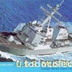 Maquetas: DRAGON - U.S.S. MUSTIN DDG 89 1/700 7044. Lote 157201930