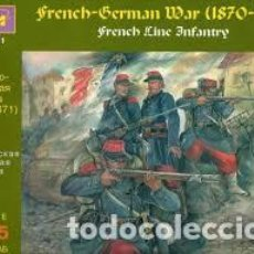 Maquetas: ICM - FRENCH GERMAN WAR 1870-1871 FRENCH LINE INFANTRY 35061 1/35. Lote 157206970
