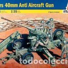 Maquetas: ITALERI - BOFORS 40MM AA GUN 1/35 6458. Lote 157248214