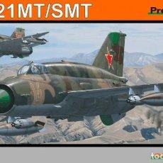 Maquetas: MAQUETA 1/48 - MIG-21MT/SMT PROFIPACK EDITION EDUARD - NR. 8233 - 1:48. Lote 157343646