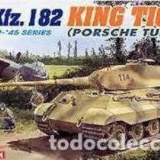 Maquetas: DRAGON - SD.KFZ.182 KING TIGER PORSCHE TURRET 1/35 6189. Lote 157355070