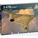 Maquetas: ITALERI - X-47B UNMANNED COMBAT AIRCRAFT SYSTEM 1/72 1421 . Lote 158337770