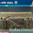 Maquetas: ITALERI - DOCK WITH STAIRS 1/35 5615. Lote 158337814