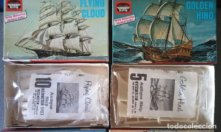 Maquetas: Lote Maquetas de Barco Life Like Hobby Kits - Foto 2 - 158855990
