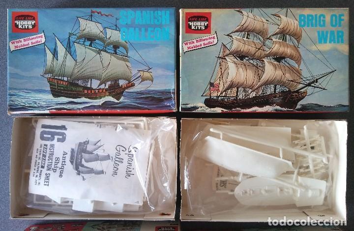 Maquetas: Lote Maquetas de Barco Life Like Hobby Kits - Foto 3 - 158855990