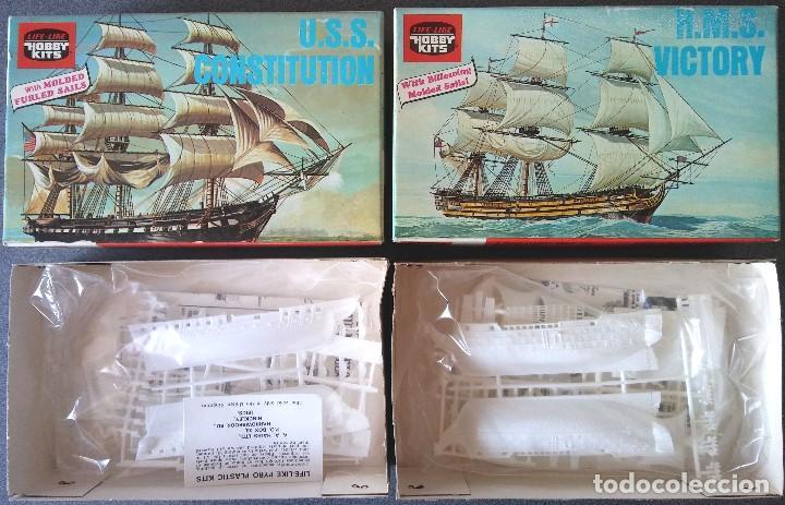 Maquetas: Lote Maquetas de Barco Life Like Hobby Kits - Foto 4 - 158855990