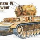 Maquetas: ACADEMY - FLAKPANZER IV WIRBELWIND + GERMAN ANTI-AIRCRAFT TANK 1/35 13236. Lote 159165326