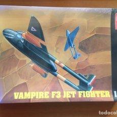 Maquetas: VAMPIRE F3 JET FIGHTER 1:48 HOBBY CRAFT HC1549 MAQUETA AVION. Lote 159402086