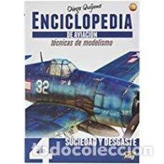 Maquettes: ENCICLOPEDIA DE TECNICAS DE MODELISMO DE AVIACION . VOL.4: ENVEJECIDO. Lote 159591670