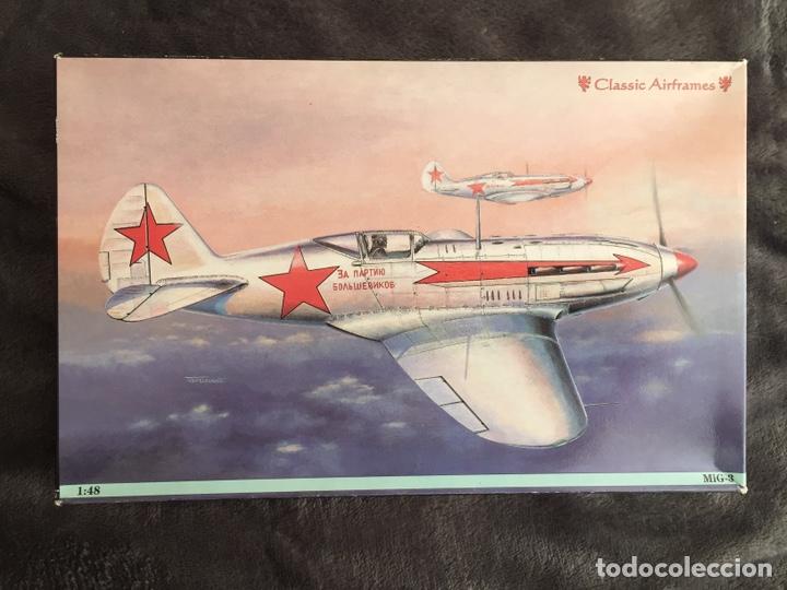 MIG-3 1:48 CLASSIC AIRFRAMES MAQUETA AVIÓN (Juguetes - Modelismo y Radio Control - Maquetas - Aviones y Helicópteros)