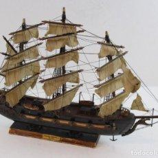 Maquetas: MAQUETA DE FRAGATA ESPAÑOLA,AÑO 1780.. Lote 159988746