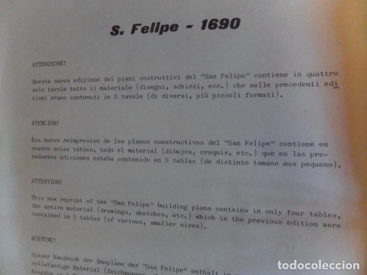 Maquetas: VINCENZO LUSCI AÑO 1966, S. FELIPE BAJEL ESPAÑOL DEL 1690. REGALO 4 PLANOS MODELISMO Y MAQUETAS HOP - Foto 3 - 160075918