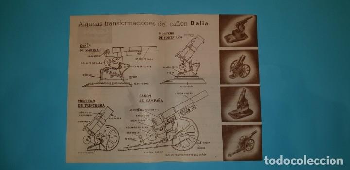 Maquetas: CAJA CAÑON TRANSFORMABLE de DALIA, con sus instrucciones de montaje. - Foto 6 - 160051018
