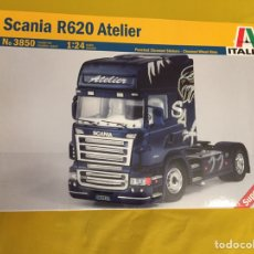 Maquetas: SCANIA R620 ATELIER 1:24 ITALERI 3850 MAQUETA CAMIÓN. Lote 160193248