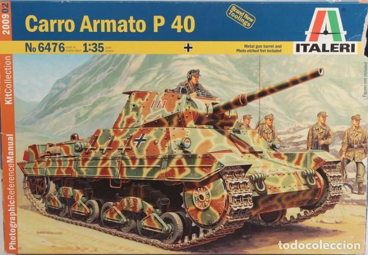 MAQUETA CARRO CARRO ARMATO P 40, REF. 6476, 1/35, ITALERI (Juguetes - Modelismo y Radiocontrol - Maquetas - Militar)