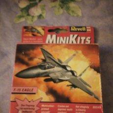Maquetas: MINIKITS REVEL F-15 EAGLE,AÑO 2000,PRECINTADO.. Lote 160714038