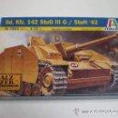 Maquetas: STUG III AUSF G. ITALERI ESCALA 1/72. MODELO NUEVO SIN CALCAS. Lote 160794146
