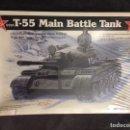 Maquetas: T-55 URSS/ TI-67 ISRAEL 1:35 LINDBERG MAQUETA CARRO. Lote 160878560