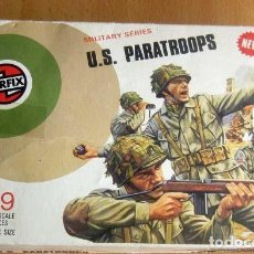 Maquetas: AIRFIX--U.S. PARATROOPS ESCALA 1/32 ,29 PIEZAS AÑO 1975, CAJA ORIGINAL.. Lote 160960118