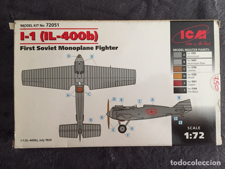 Maquetas: ILYUSHIN IL-400b 1:72 ICM 72051 maqueta avión - Foto 4 - 161024868