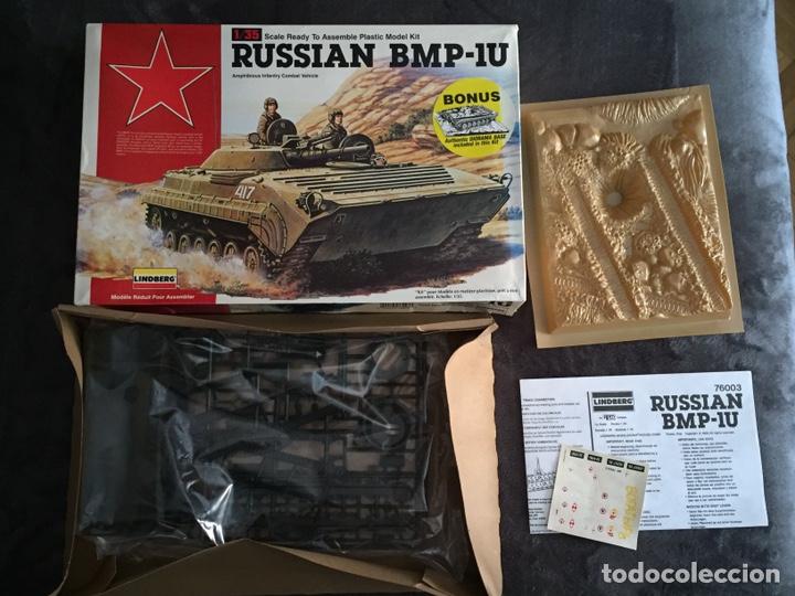 Maquetas: Russian BMP-1U 1:35 LINDBERG 76003 maqueta carro - Foto 3 - 161192776