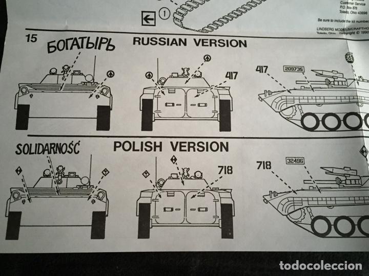 Maquetas: Russian BMP-1U 1:35 LINDBERG 76003 maqueta carro - Foto 6 - 161192776