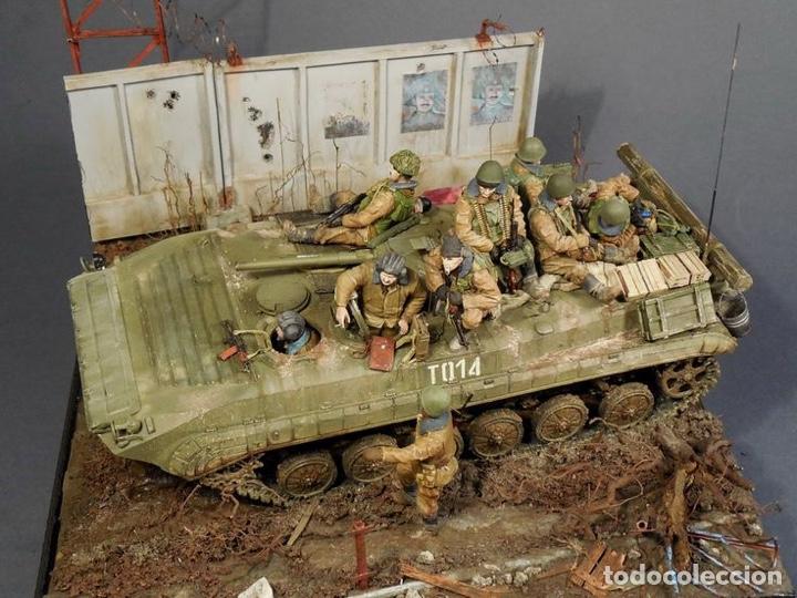 Maquetas: Russian BMP-1U 1:35 LINDBERG 76003 maqueta carro - Foto 10 - 161192776