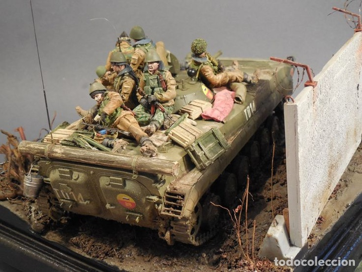 Maquetas: Russian BMP-1U 1:35 LINDBERG 76003 maqueta carro - Foto 11 - 161192776