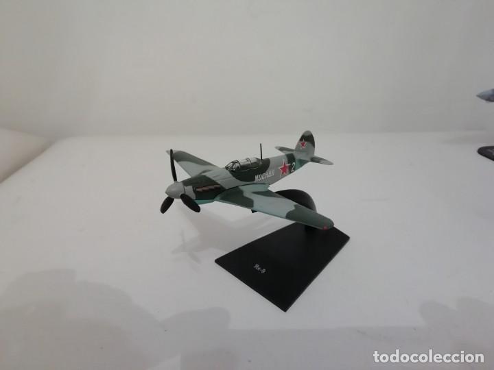 AVIÓN RUSO CAZA YAKOVLEV YAK-9 1/90 NUEVO PLANETA AGOSTINI (Juguetes - Modelismo y Radio Control - Maquetas - Aviones y Helicópteros)