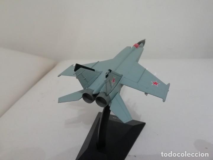 Maquetas: Avión Ruso Caza MIG 25 Flanker 1/144 NUEVO PLANETA AGOSTINI - Foto 2 - 161222202