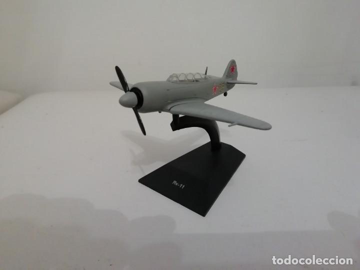 AVIÓN RUSO CAZA YAKOVLEV YAK-11 1/81 NUEVO PLANETA AGOSTINI (Juguetes - Modelismo y Radio Control - Maquetas - Aviones y Helicópteros)