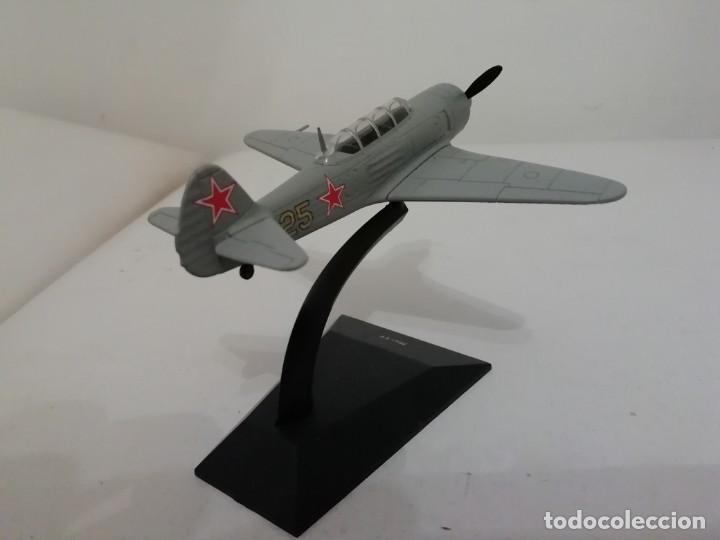 Maquetas: Avión Ruso Caza Yakovlev Yak-11 1/81 NUEVO PLANETA AGOSTINI - Foto 2 - 161225330
