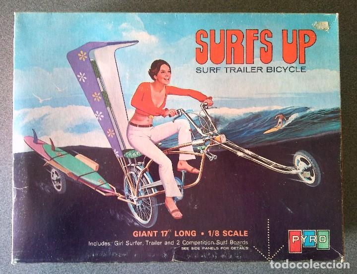 MAQUETA SURFS UP SURF TRAILER BICYCLE PYRO (Juguetes - Modelismo y Radiocontrol - Maquetas - Otras Maquetas)