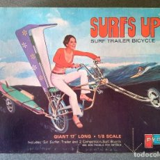 Maquetas: MAQUETA SURFS UP SURF TRAILER BICYCLE PYRO. Lote 161489818