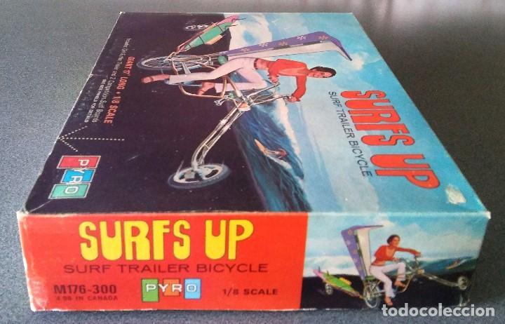 Maquetas: Maqueta Surfs Up Surf Trailer Bicycle Pyro - Foto 5 - 161489818