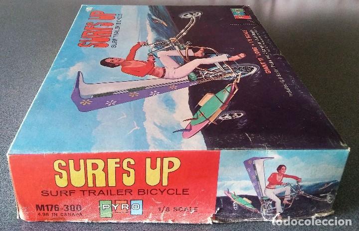 Maquetas: Maqueta Surfs Up Surf Trailer Bicycle Pyro - Foto 6 - 161489818