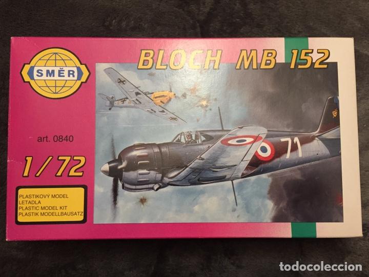BLOCH MB 152 1:72 SMER 0840 MAQUETA AVION (Juguetes - Modelismo y Radio Control - Maquetas - Aviones y Helicópteros)