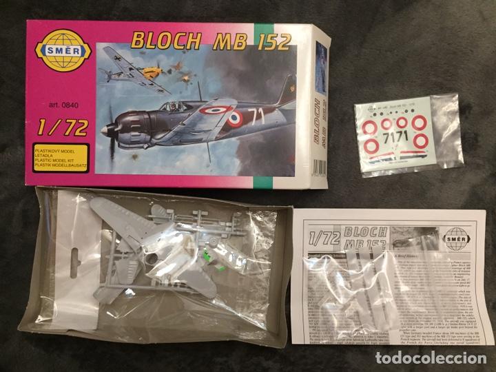 Maquetas: BLOCH MB 152 1:72 SMER 0840 maqueta avion - Foto 3 - 161595568