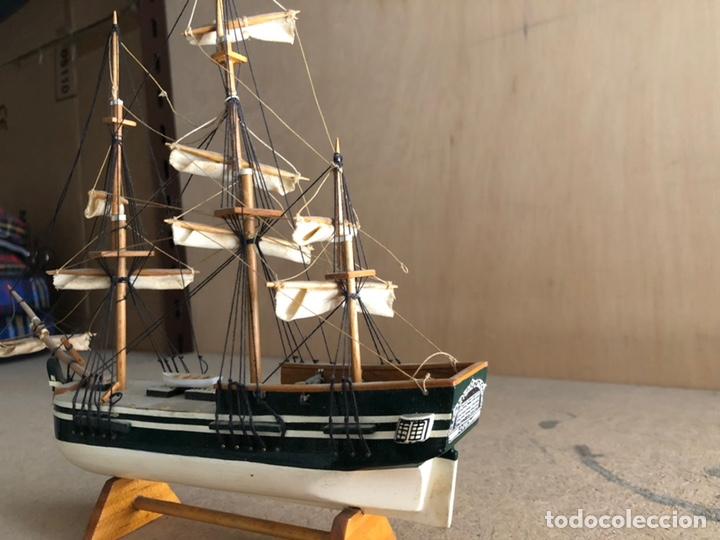Maquetas: Barco madera 40 cm hecho a mano 1980 - Foto 2 - 161604310