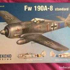 Maquetas: FOCKE WULF FW 190A-8 1:72 EDUARD 7435 MAQUETA AVION CON. Lote 161749761