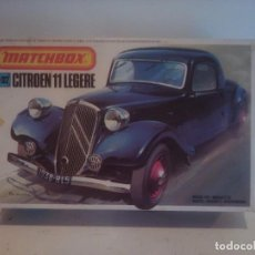 Maquetas: CITROEN DE MATCHBOX 1/32 APTO PARA DIORAMAS WWII 1/35. Lote 162036402
