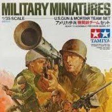 Maquetas: TAMIYA - U.S. GUN & MORTAR TEAM SET 35086 1/35. Lote 162081974